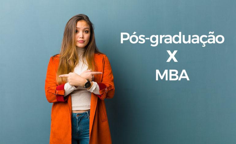 Pós-graduação: Especialização ou MBA?